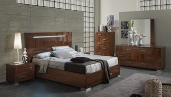 Italian High Gloss Bed