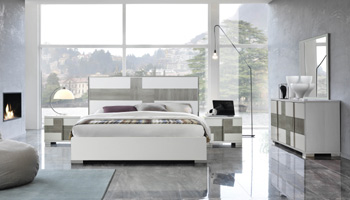Italian Lacquer Bed