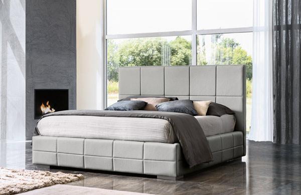 Clio Bed Grey