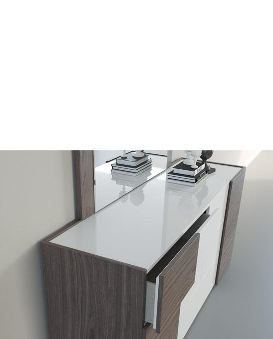 White Espresso Dresser